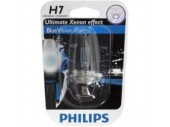 Ampoule type h7 philips blue vision