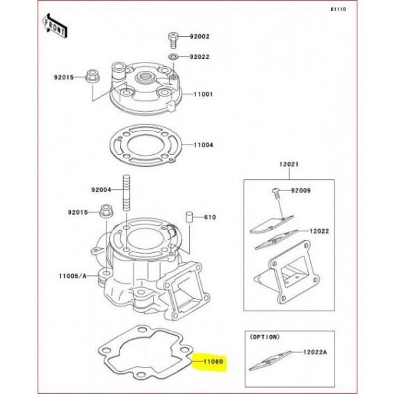 Joint de cylindre KX65