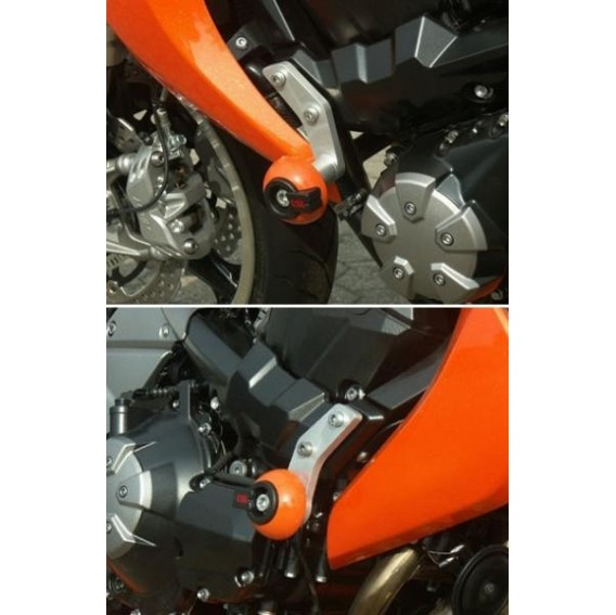 Kit fixation crash pad pour Z750 & Z1000.