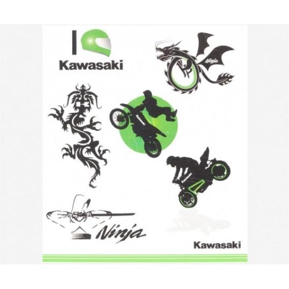 Kit tatouages kawasaki