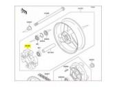 Silent block roue arrière 921601399