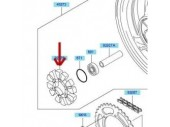 Silent block roue arriere 920751436