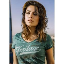 T-Shirt Kawasaki Héritage femme