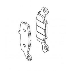 Plaquette de frein avant droit (430820010)