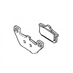 Plaquette de frein arrière (430821062)