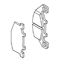 Plaquette de frein avant (430821189)