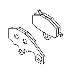 Plaquette de frein arrière (430820119)