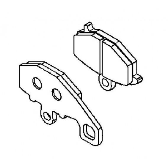 Plaquette de frein (430820119)