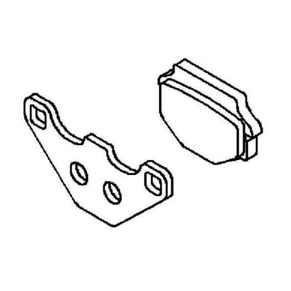 Plaquette de frein arrière (430821289)