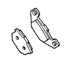 Plaquette de frein avant (430821061)