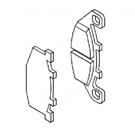 Plaquette de frein avant (430821123)