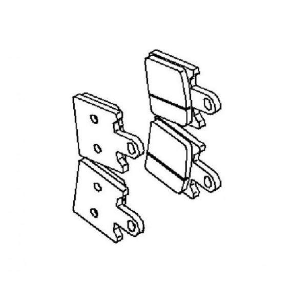 Plaquette de frein avant (430820112)