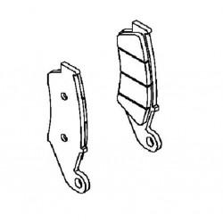 Plaquette de frein avant (430820132)