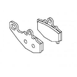 Plaquette de frein arrière (430821213)