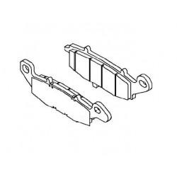 Plaquette de frein arrière (430821264)