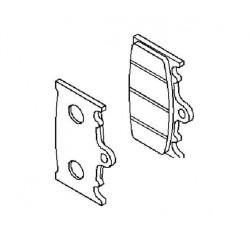 Plaquette de frein avant (430821110)