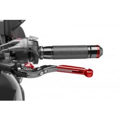 Levier d'embrayage réglable et rabattable 2.0 Puig et adaptateur 5454N