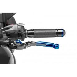 Levier d'embrayage réglable et rabattable 2.0 Puig avec adaptateur pour ZZR1400