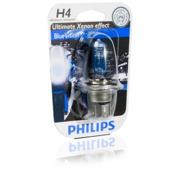 AMPOULE H4 PHILIPS BLUE VISION.
