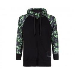 Sweatshirt à capuche kawasaki camouflage