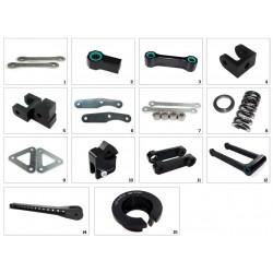 Kit de rabaissement TECNIUM -30mm pour Z650