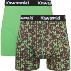 Caleçons boxer Kawasaki Black & White.