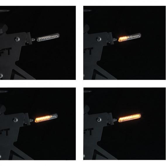 Clignotants à LED Séquentiel 2.0 Hammer Noir/Fumé