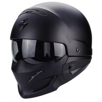 Casque Scorpion EXO-COMBAT Solid noir mat