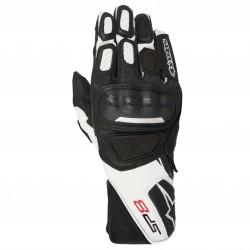 Gants ALPINESTARS SP-8 V2 black white