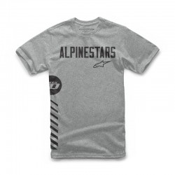 T-Shirt Alpinestars Wordly tee grey
