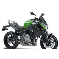 Capot de selle gris pour Z650 vert 2019