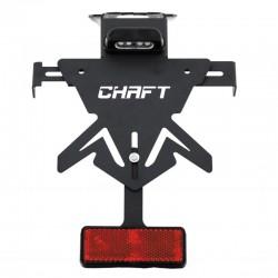Support de plaque Chaft Z650/Ninja 650