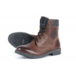 Chaussures moto homme OVP-23 marron