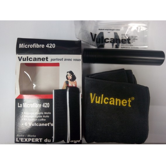 Lingettes Vulcanet Kit de voyage