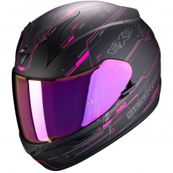 Casque Scorpion EXO-390 Beat rose