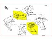 Clignotant d'origine ER6n/f 2009 à 2011