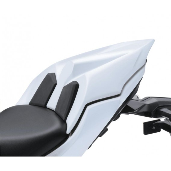 Capot de selle blanc pour Z650 et Ninja 650