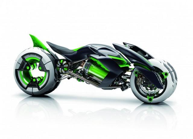 Kawasaki Moto Futuriste