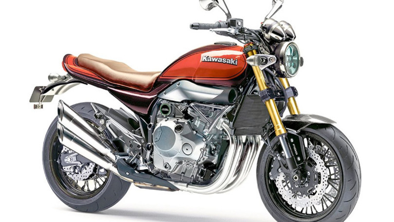 La Z900RS de Kawasaki