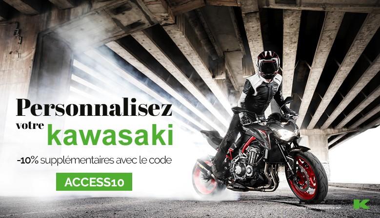 personnalisation kawasaki
